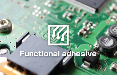 Functional adhesives